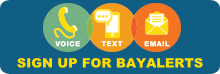 BayAlerts sign-up