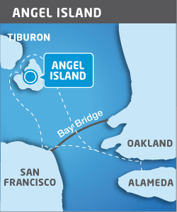 Angel Island terminal map