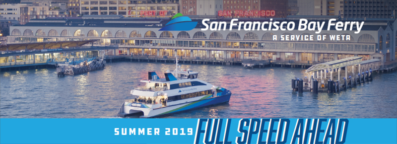 Chase Maintenance Schedule 2019 Full Speed Ahead, Summer 2019: Richmond weekend service, Vallejo