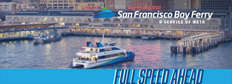 Full Speed Ahead, Quarterly Newsletter of San Francisco Bay Ferry