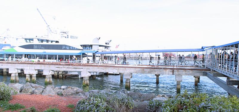 Main Street Alameda Ferry Terminal