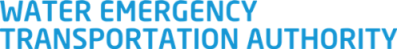 Water Emergency Transportation Authority logo